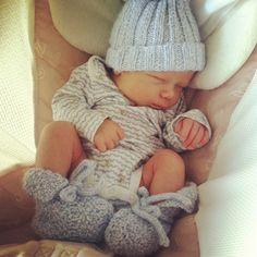 Cutest newborn style