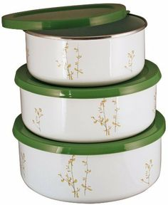 Corelle Coordinates Kobe Storage Bowl Set, 6-Piece by Corelle Coordinates. $15.12. Corelle Coordinates kobe. Set includes three bowls and three lids. Enamel-on-steel bowls, plastic lids. Hand wash recommended. 1-Year manufacturers defects. Keep your dinner set pattern going with this Corelle Coordinating storage bowl set in the kobe pattern. These enemal on steel storeage bowls are great for storage, mixing or serving from. Each bowl comes with a plastic sealable lid for ...