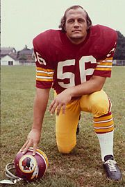 Redskins Super Bowl History | 1964-77 #56 Len Hauss