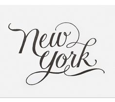 new york  by sugar paper