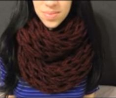 I watched this video and it was totally amazing! She explains it so well! Arm knitting