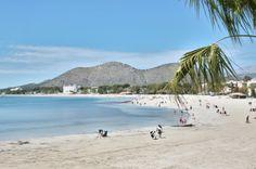 Der Strand von Alcúdia - Mehr Tipps für einen tollen Mallorca-Urlaub findet ihr bei uns auf dem Blog.