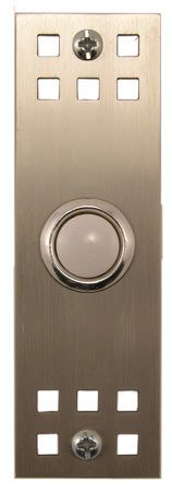 Waterwood Hardware Stainless Steel Craftsman Style Doorbell From Cabinet Ore