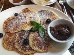 Pancakes in der Bar Giornale in München. Lust Restaurants zu testen und Bewirtungskosten zurück erstatten lassen? https://www.testando.de/so-funktionierts