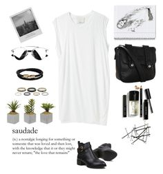 """I Want To Wake Up In A City That Never Sleeps"" by ampie-jessica ❤ liked on Polyvore featuring 3.1 Phillip Lim, Volcom, Bobbi Brown Cosmetics, Kardashian Kollection, Mulberry and Meggie"
