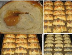 Rolls with kefir Kefir Recipes, Sweet Pastries, Apple Pie, Mashed Potatoes, Rolls, Cake, Ethnic Recipes, Desserts, Food