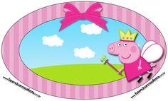Placa Peppa Pig Princesa: