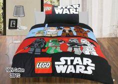 Childrens/Kids Lego Star Wars Duvet/Quilt Cover Bedding Set (twin ...