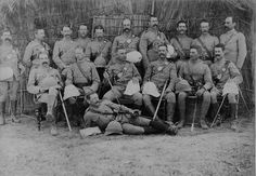 British soldiers - colonial India 1880s