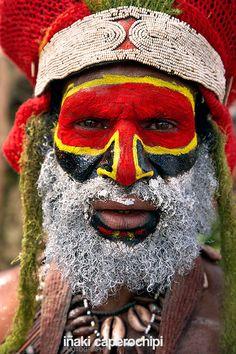 Sing Sing de Mount Hagen. Papua Nueva Guinea © Inaki Caperochipi Photography
