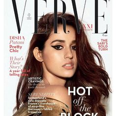 Disha Patani Looks On The Latest Cover Of Verve Magazine December January Check Out Full Photoshoot Set Of Pics Of Disha Patani Verve Magazine January