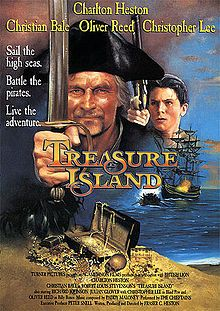 Treasure Island (1990) This version of Treasure Island is the absolute best and it follows the book very closely.  Love it!!  #movies