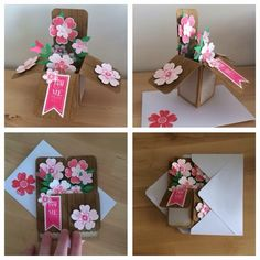 Suzanne Creatief: Workshop kaart-in-box