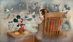 Disney Fine Art | Touch Of Magic DISNEY FINE ART Giclee by Mike Kupka NIB Mint
