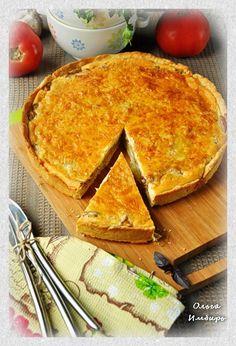 Грибной пирог с сыром | Marta-club.ru