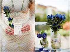 Bridal Shower Ideas - sweet 'gems' of advice from bridesmaids to bride! By Twine Events su.pr/7ftpIA (photos by Lane Dittoe)
