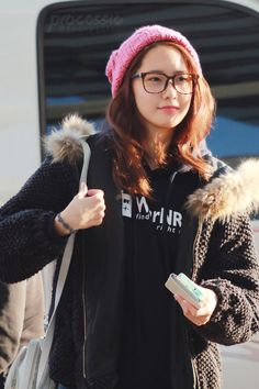 Yoona - SNSD at Gimpo Airport Heading for Japan