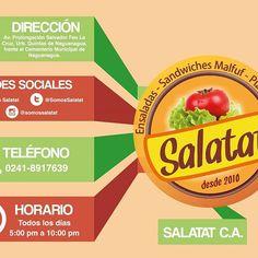 "Infografia para Restaurante ""Salatat"" / Infographic for ""Salatat"" Restaurant  #infographic #restaurant #graphicdesign #graphicdesigner #project #Design #artwork #work"