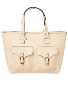 This shopper from Vero Moda will fit all your essentials and more! It features two pockets on the front which have buckle closures and it zips across the top. Inside it has a zip up pocket as well as two other small pockets, one for your phone. A perfect colour to match any outfit and a fresh change from black.    Measures: 38cm x 30cm x 14cm   Nude Shopper Bag by Vero Moda. Bags - Shoulder & Hobo Highlands and Islands, Scotland, United Kingdom