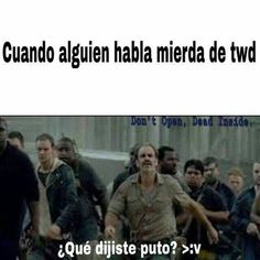 Memes de the walking dead  #51 en humor 26/11/16 #24 en humor 4/12/16 #detodo # De Todo # amreading # books # wattpad