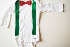 Baby First Christmas // First Christmas Boy Outfit by wildjuniper, $20.00
