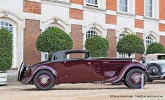 1933 Rolls-Royce Phantom II Continental Freestone and Webb Coupe