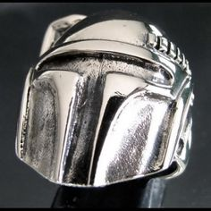 Hey, I found this really awesome Etsy listing at https://www.etsy.com/listing/128981256/silver-boba-fett-ring-bounty-hunter-star