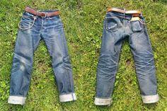 Samurai Jeans S710xx (8 Months, 2 Washes, 4 Soaks)  #denim #fashion #menswear