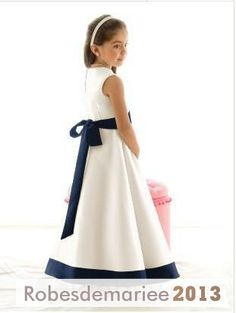 Robes de Petites Filles for the mariée A-ligne Princesse Longueur Genou