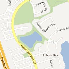 Calgary Auburn Bay Community Map
