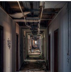 Long, scary, hallway