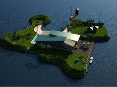 WEB LUXO - IMÓVEIS DE LUXO: Projeto nas Maldivas tem ilhas luxuosas em forma de estrela e flor