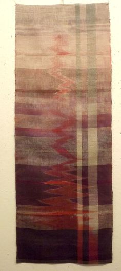a beautiful weaving with a lovely combination of the organic and stuctured.