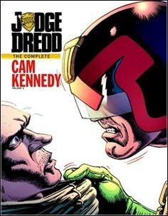 Judge Dredd: The Cam Kennedy Collection, Vol. 1 Preview