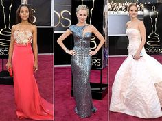 Kerry Washington, Naomi Watts, Jennifer Lawrence, and other big stars on the 2013 Oscars red carpet: Who wore what to the 85th Academy Awards