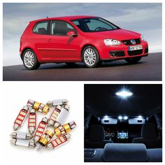 Check Price 15 X Canbus No Free Led Light Interior Package Kit For 1999 2005 Volkswagen Vw Mk4 Golf Gti #Golf #Gloves