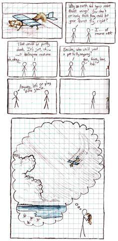 XKCD comic: Ferret