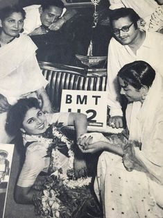 Cinema ©: Indian Actors Geeta Bali, Geeta Dutt, Guru Dutt and others [circa Vintage Bollywood, Indian Bollywood, Bollywood Stars, Bollywood Couples, Bollywood Celebrities, Bollywood Actress, Geeta Bali, Sunil Dutt, Sharmila Tagore