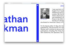 Jonathan Beckman by Catalogue — The Brand Identity