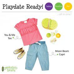 Picnic Bean  Peekaboo Beans - playwear for kids on the grow! www.peekaboobeans.com   #PBPlayfulPairings