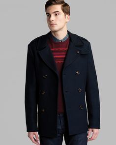d5fe05f3d4bc Ted Baker Lolpear Double-Breasted Coat Men - Coats   Jackets -  Bloomingdale s