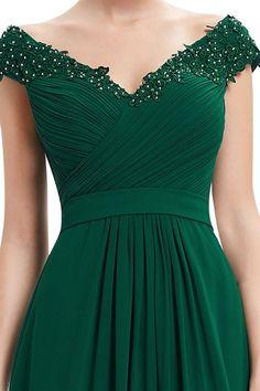 Women's Dress | Sincerely Sweet Dress #dress #dresses #cutedress https://sincerelysweetboutique.com/dresses.html | Emerald Off Shoulder Long Dress