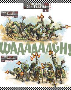 Waaagh! tactics