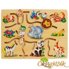 Fejetlenség az állatok között! Segíts nekik! Egészen vicces képeket is csinálhatsz! Segít a kéz-szem koordináció és az írás-előkészítés fejlesztésében. Kids Rugs, Fa, Home Decor, Wood Toys, Decoration Home, Kid Friendly Rugs, Room Decor, Home Interior Design, Home Decoration