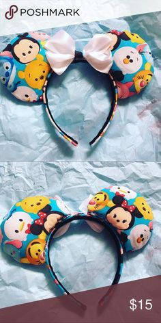 Character ears These are super adorable character ears just like the plushies Disney Accessories Hair Accessories