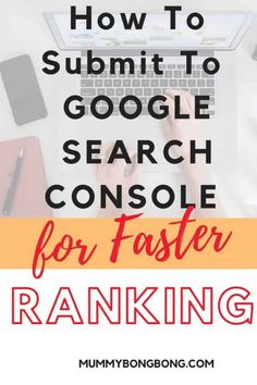 How To Submit to Google Search Console Seo Tips, Search Engine Optimization, Console, About Me Blog, How To Get, Blogging, Google Search, Learning, Studying
