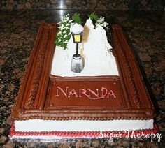 Oh my goodness! That is awesome! I want a Chronicles of Narnia themed birthday party now....
