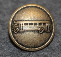 Bus driver, swedish, pre 1967. 16mm, bronze Bus Driver, Rings For Men, Bronze, Buttons, Men Rings, Plugs