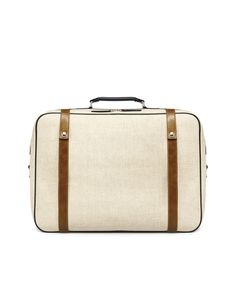 Zara - Canvas Suitcase | 90 bucks (click photo for product page)