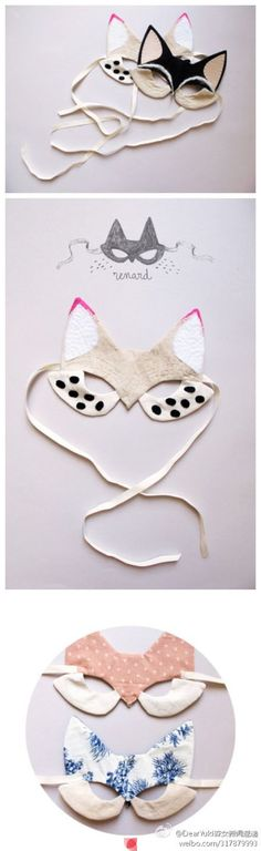 Pay homage to Catwoman with these easy-to-make masks. Have fun!